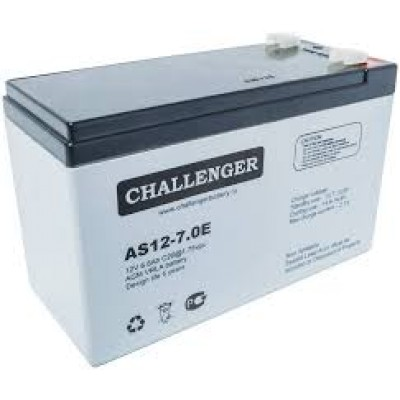 Свинцово-кислотная аккумуляторная батарея CHALLENGER AS12-7.0