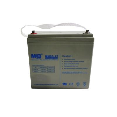 Аккумуляторная батарея MNB AGM MM55-12