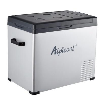 Автохолодильник компрессорный Alpicool C50 DC 12V/24V и AC 220V