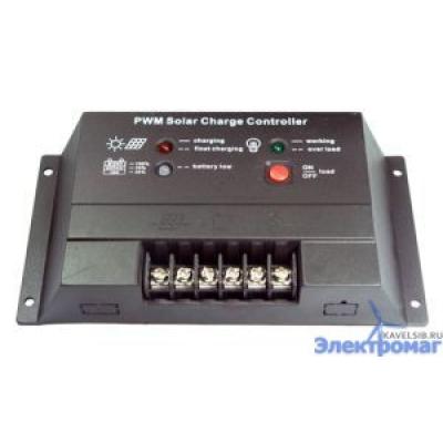 Контроллер для солнечных батарей CM20 20A 12V/24V auto switch