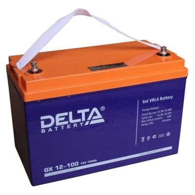Аккумуляторная батарея GX 12-100 Delta