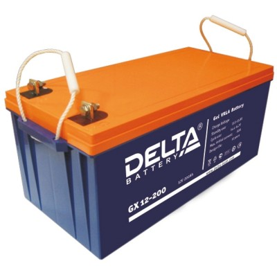 Аккумуляторная батарея GX 12-200 Delta