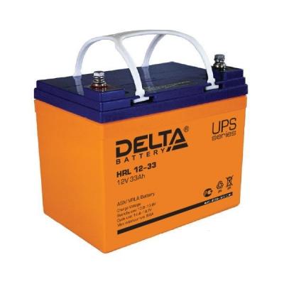 Аккумуляторная батарея HRL 12-33 Delta