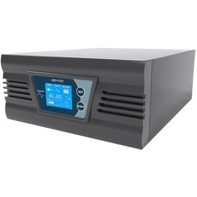 Инвертор ECO 300Вт 12В LCD чистый синус
