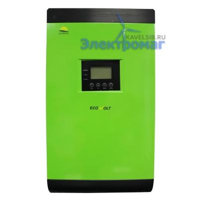 Источник бесперебойного питания SUNRISE 3248M 4000ВА3200Вт/48В, MPPT солнечный контроллер 60А инвертор