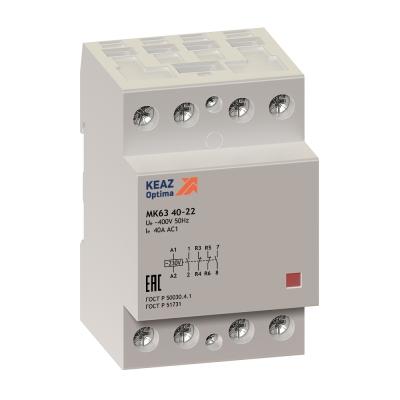 Модульные контакторы OptiDin МK63-6322-230АС