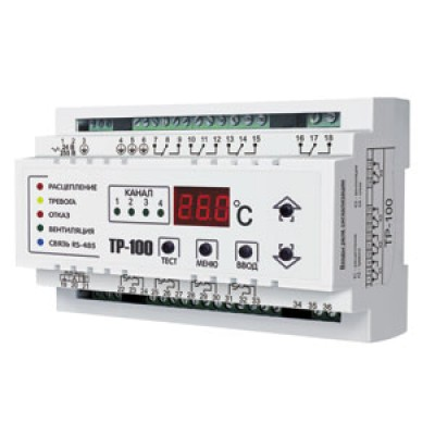 Реле температурное OptiDin ТР-100