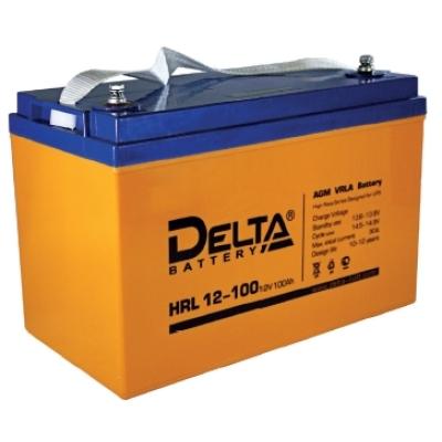 Аккумуляторная батарея HRL 12-100 Delta