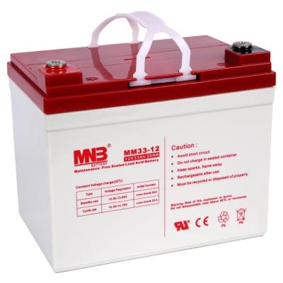 Аккумуляторная батарея MNB AGM MM33-12