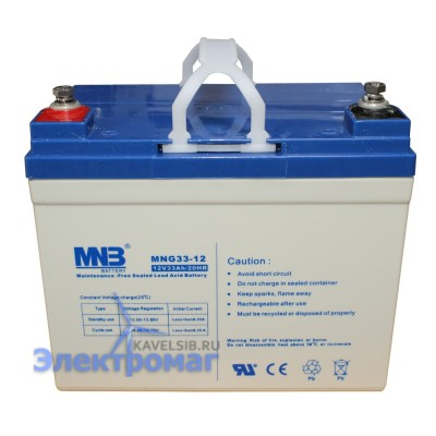 Аккумуляторная батарея МNВ GEL MNG33-12