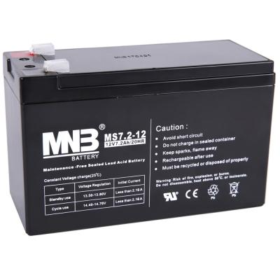Аккумуляторная батарея MNB AGM MS7.2-12 F2
