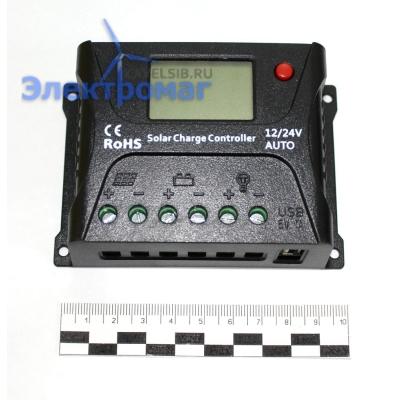 Контроллер для солнечных батарей SRNE SR-HP2410 12В/24В 10А