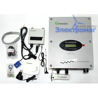 Сетевой (grid-tie) инвертор Growatt 3000-S 3000Вт