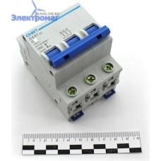 Авт. выкл.DZ47-60 3P 25A 4.5kA х-ка C  (CHINT)