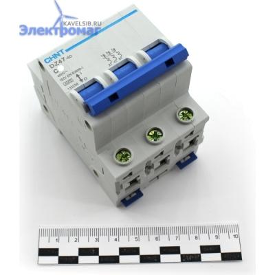 Авт. выкл.DZ47-60 3P 6A 4.5kA х-ка C  (CHINT)