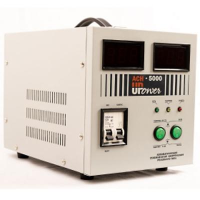 Стабилизатор UPOWER ACH- 5000 с цифровым дисплеем Е0101-0014