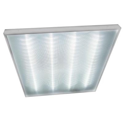 Светодиодный офисный светильник накладной LED Армстронг Exmork  «Микропризма»