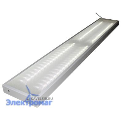 Светодиодный офисный светильник LED «Микропризма» 120*20М 6000К
