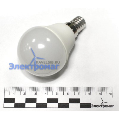 Светодиодная лампа 12В 5Ватт цоколь Е14 4500К
