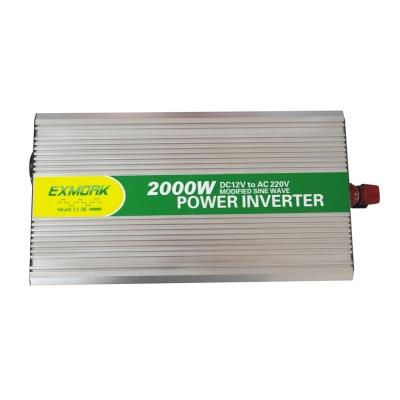 Инвертор 2000 ватт EX2000-12M LCD с USB