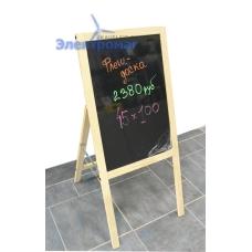 Флеш панель Exmork 45x100 с деревянной рамкой