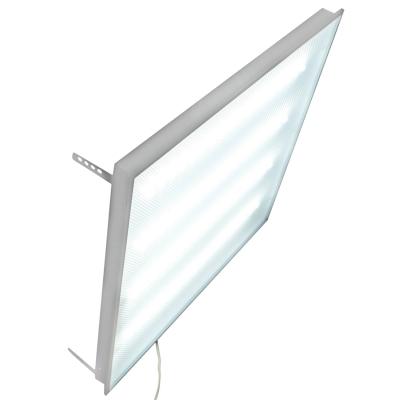Светодиодный светильник Exmork «Микропризма» 220В Грильято