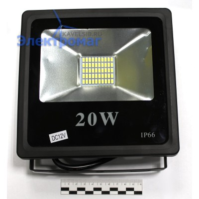 Светодиодный LED прожектор Slim SiP-FL-SMD 20W 20Вт 12В