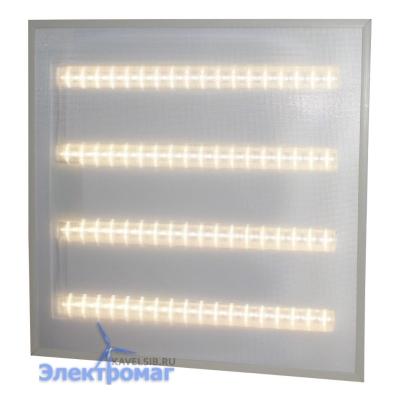 Светодиодный офисный светильник LED Армстронг Exmork Люкс «Микропризма» 4500К