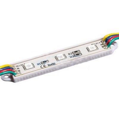 Светодиодный модуль герметичный PGM5050-3 RGB 12V