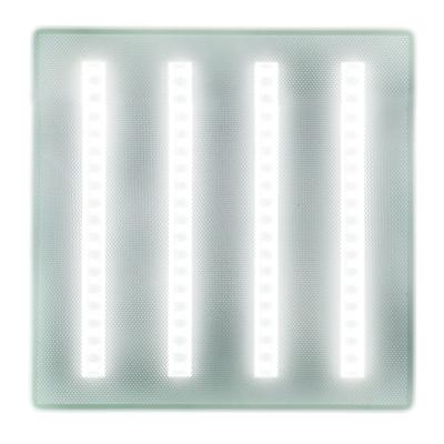Светодиодный офисный светильник LED Армстронг Exmork Люкс «Микропризма»