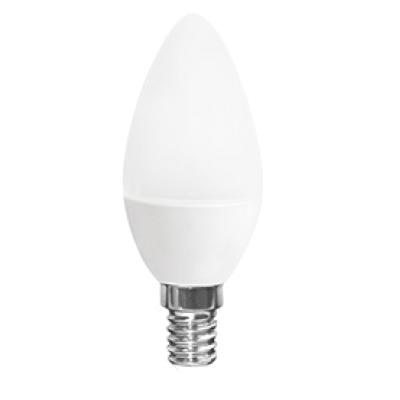 Лампа светодиодная QEEPS LED C30 7W/4000/E14 100-250V