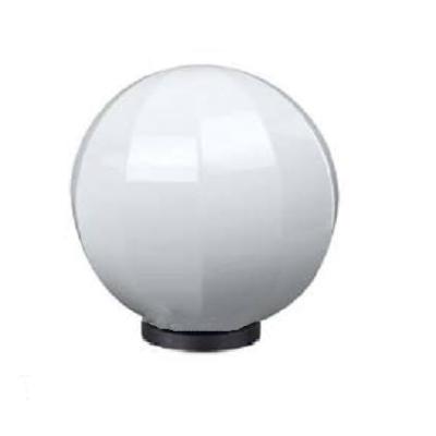 Декоративный уличный светильник-шар 250мм молочно-белый