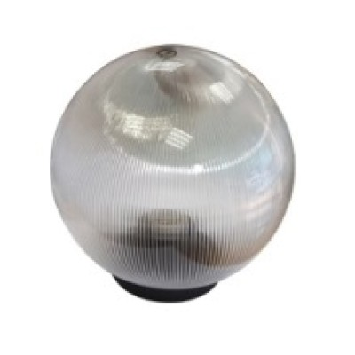 Уличный светильник-шар 350мм прозрачная огранка