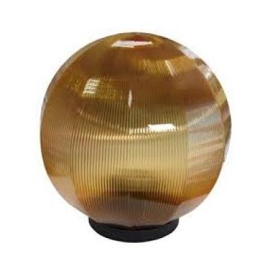 Декоративный уличный светильник-шар 300мм шоколад
