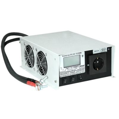 Инвертор ИС1-12-1700  DC-AC с ЖК индикатором