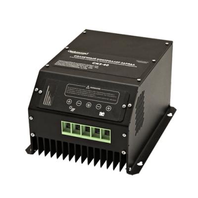 Контроллер для солнечных батарей СКЗ-40 MPPT