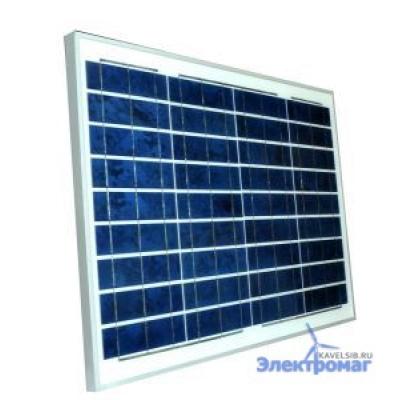 Солнечная батарея 40 Ватт 12В  поликристаллическая