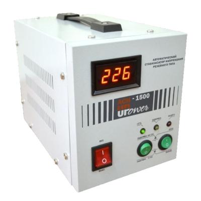 Стабилизатор UPOWER ACH- 1500 с цифровым дисплеем Е0101-0011