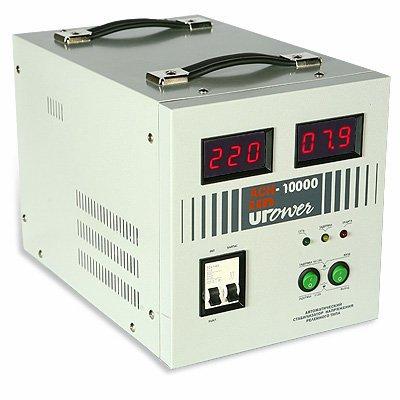 Стабилизатор UPOWER ACH- 10000 с цифровым дисплеем Е0101-0016