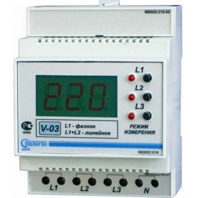 Вольтметр цифровой V-05
